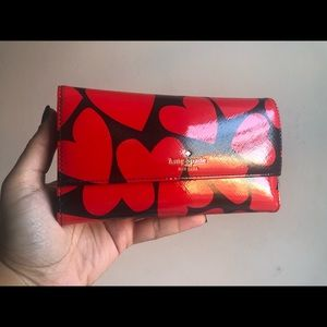💯 Authentic Kate Spade ♥️ Wallet w. Phone Case ♠️